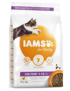 Animaux de compagnie - Alimentation du chaton