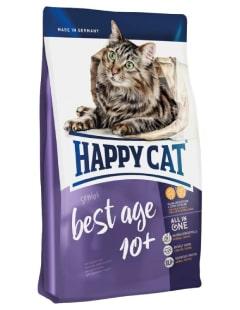 Happy Cat Best Age 10+ - Alimentation complète avec peu de matière grasse