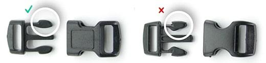 Accessoires d'animalerie - Fermoir avec sécurité anti-étranglement pour collier réglable