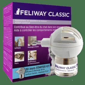 Diffuseur Feliway Classic pour chat heureux