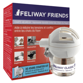 Feliway Friends pour troubles du comportement des chats