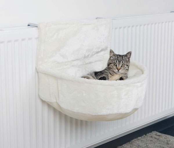 Hamac de radiateur pour chats d'intérieur