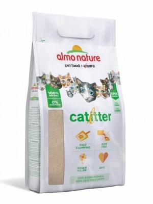 Litière du chat en fibres végétales - Almo Nature