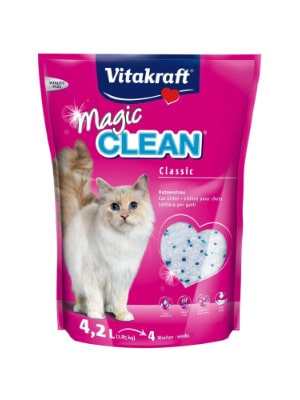 Litière Vitakraft Magic Clean gel de silice