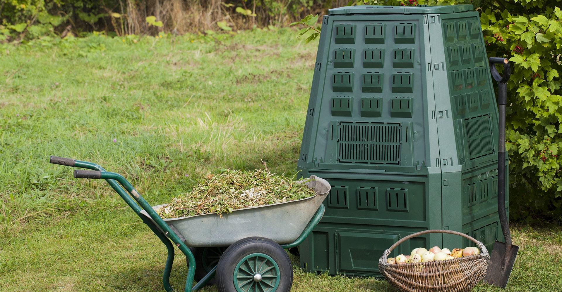 Litière chat compost